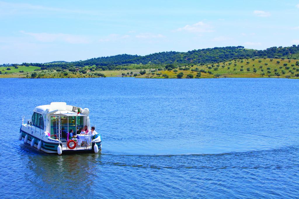 Passeio de Barco - Alqueva - Credito Turismo do Alentejo
