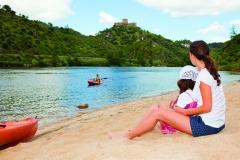 Praia fluvial - Alqueva - Credito Turismo do Alentejo