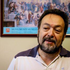 Professor César Nunes e a escola acolhedora