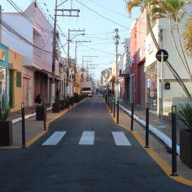 Boulevard 'Floriano' muda paisagem do Centro de Itu