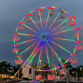 Polo Shopping Indaiatuba recebe roda-gigante de 22 metros
