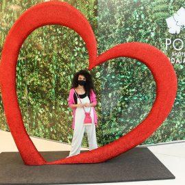 Polo Shopping ganha espaço instagramável para o Dia das Mães