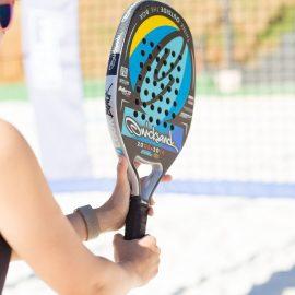 Beach tennis será usado na campanha contra o câncer